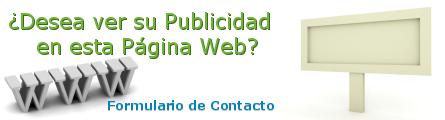 Publicitarse. Formulario de Contacto